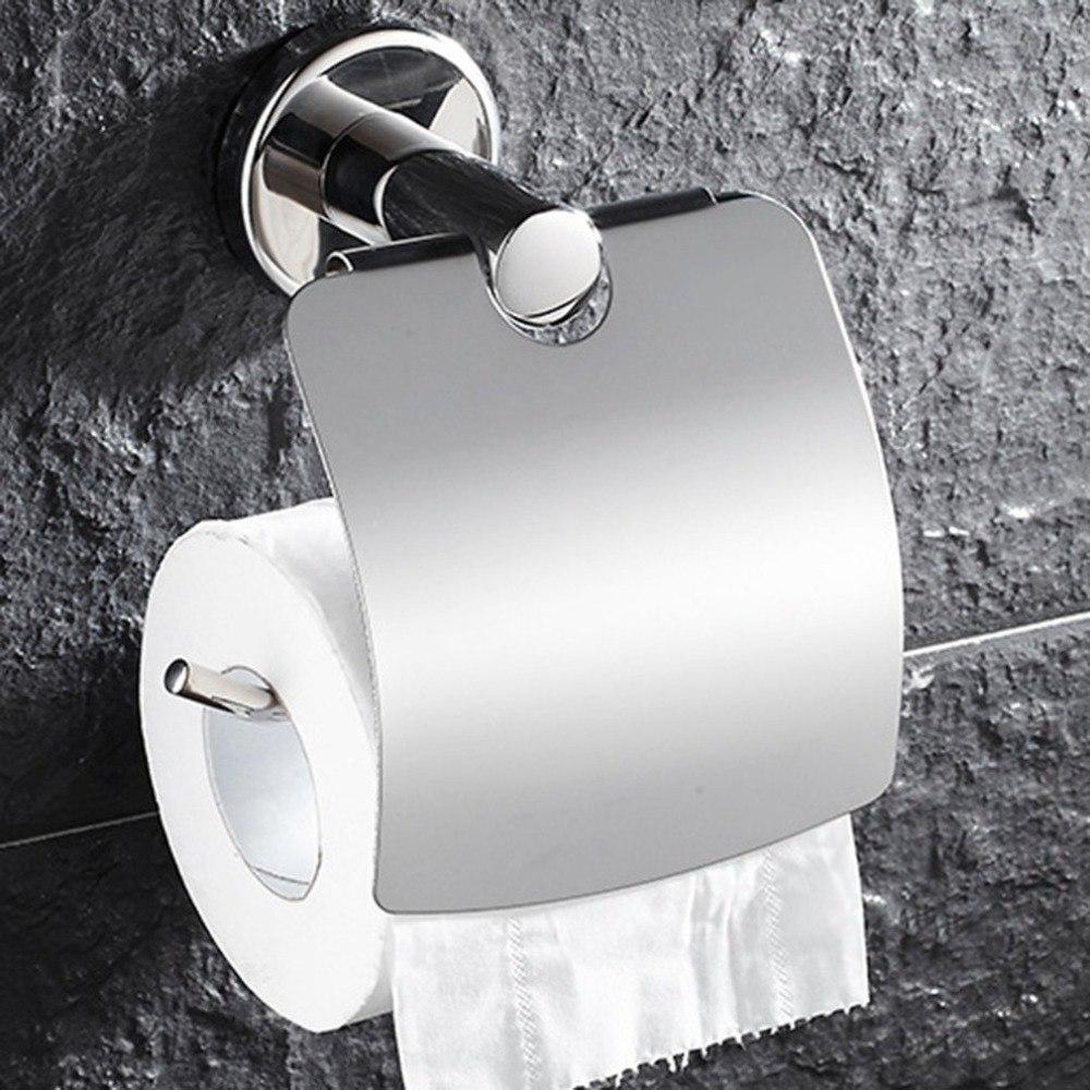 Silver Plain /& Simple en aluminium Porte-rouleaux de papier toilette