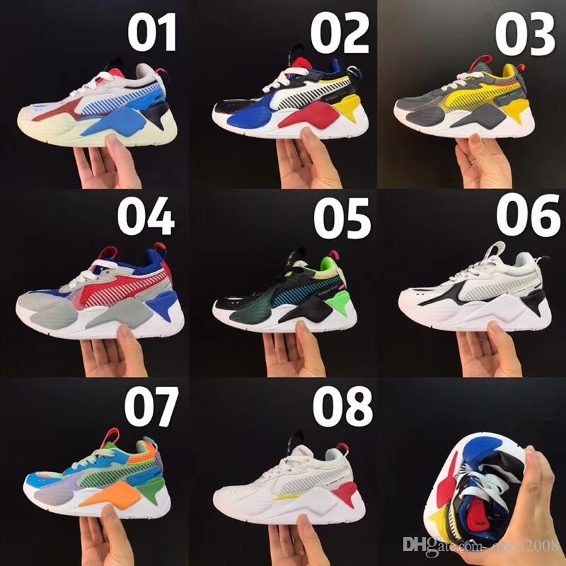 zapatos puma transformers niños