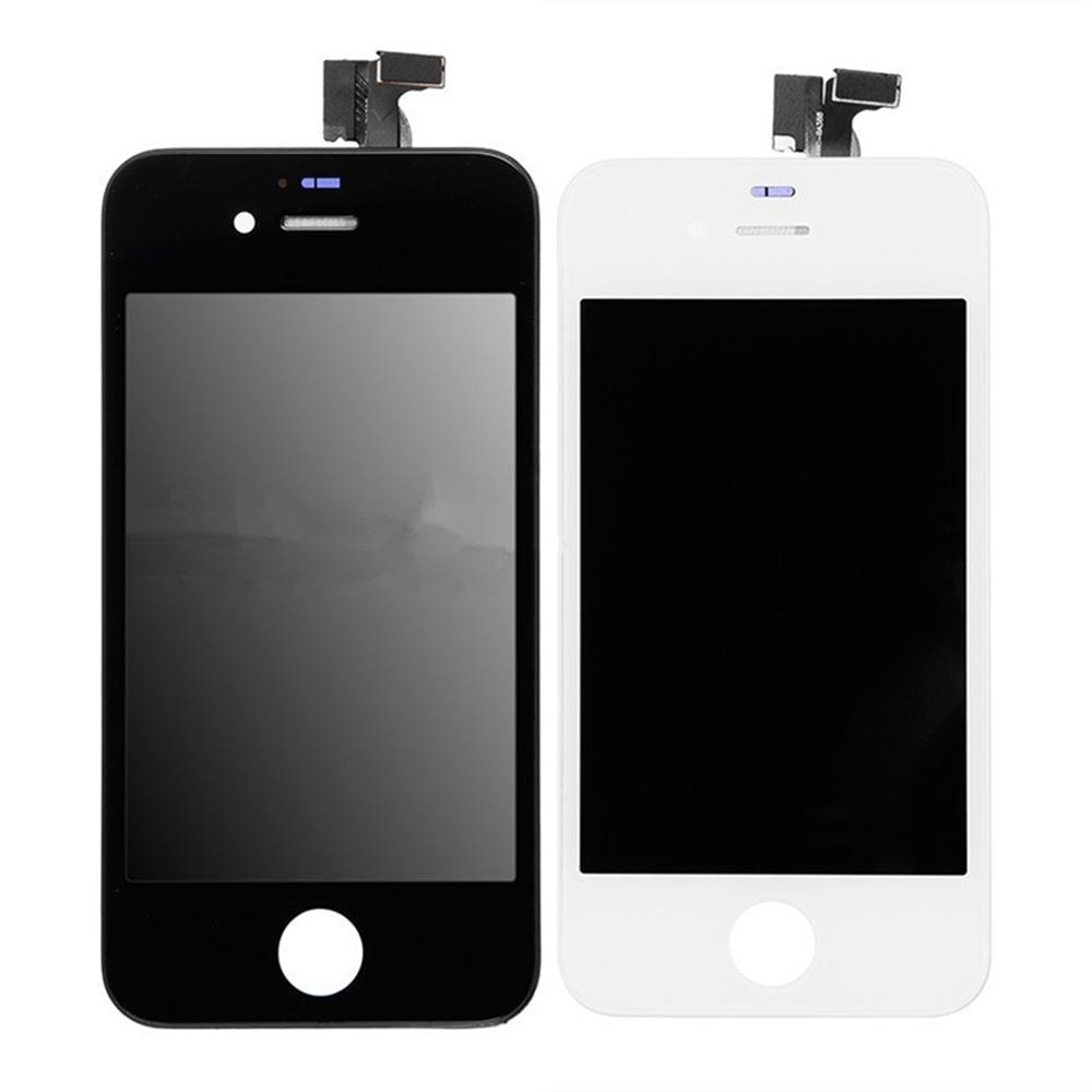 For Apple iPhone 4 4S LCD Screen and Digitizer Assembly with Frame Replacement!!(Black/White)