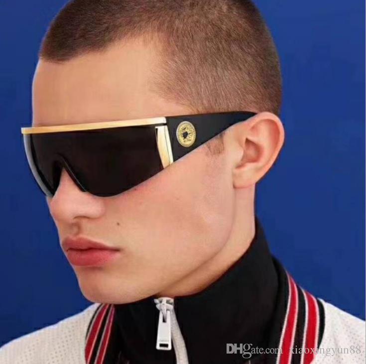Occhiali da sole di alta qualità di lusso firmati UV400 di alta qualità con occhiali da sole box da uomo e da donna moda occhiali da sole spedizione gratuita