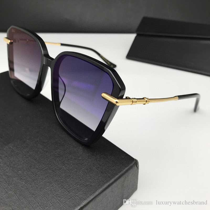 Le donne da sole Nero Grey Shaded CD1071 Occhiali da sole all'aperto Shades Occhiali da Sole Occhiali gafa de sol nuovi con la scatola