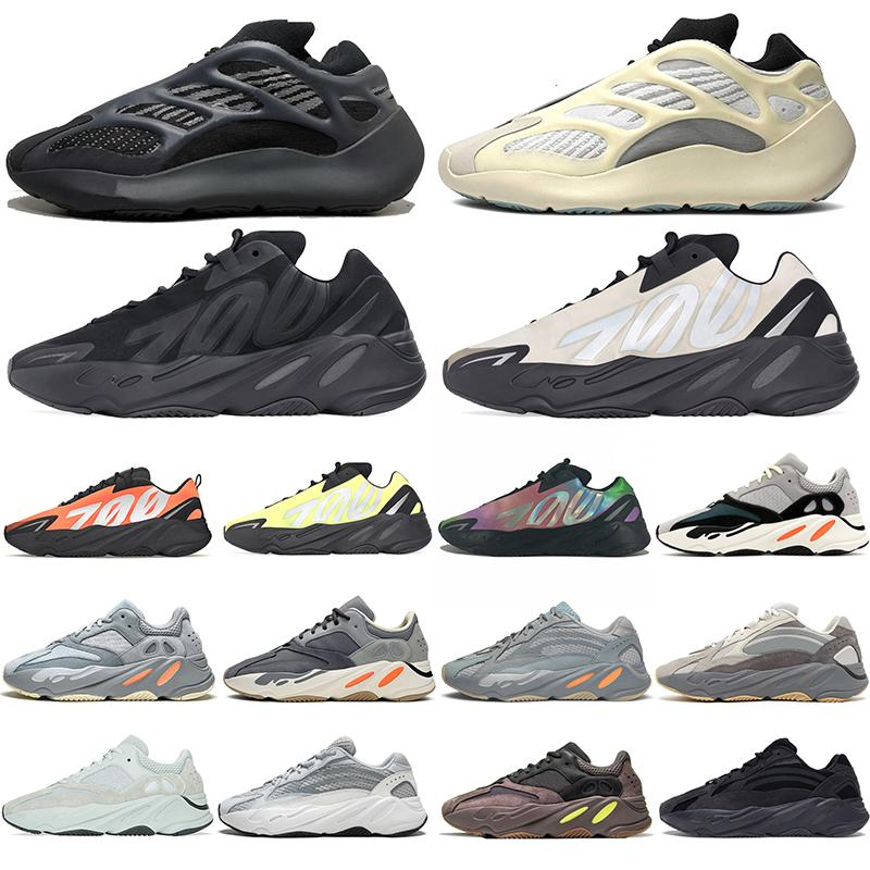 Sıcak 700 V2 Atalet Dalga Runner Alvah Azael 700s V3 Ayakkabı Vanta Tephra Womens Spor Spor ayakkabılar Koşucular Boyutu 36-45 Koşu