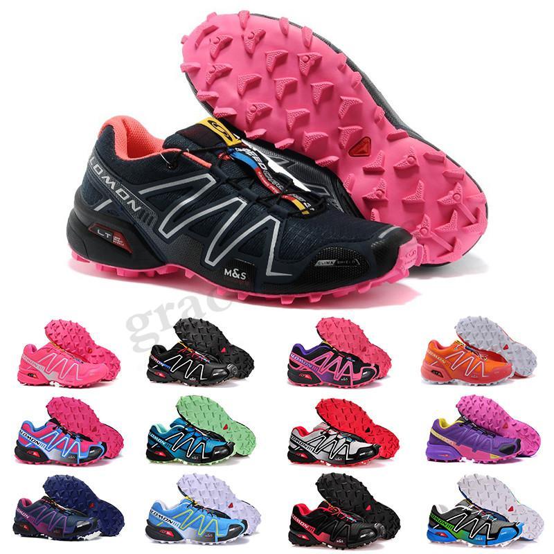 2019 Hot Speed Cross 3 CS III Outdoor Male Camo Red Black Women Sports sneakers trainers Speed Crosspeed 3 running shoes PP03