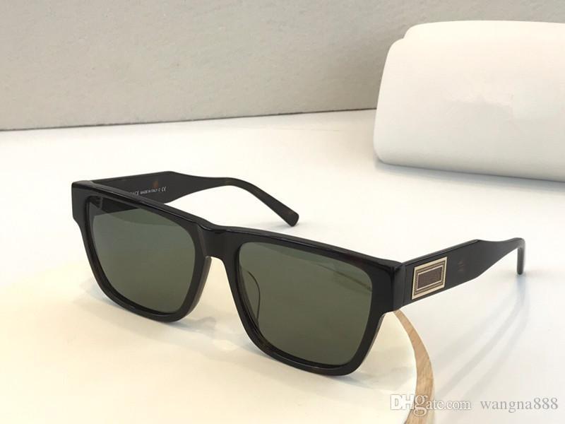 Nouveaux 4379 lunettes de soleil pour la mode hommes cadre carré spectacle style simple et populaire design uv 400 qualité supérieure de lunettes en plein air viennent avec le cas