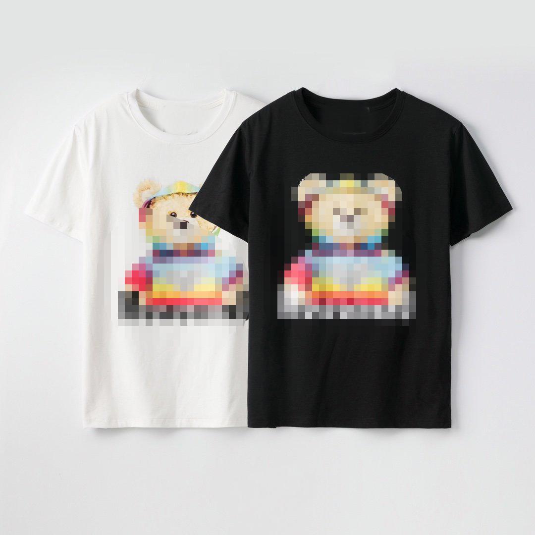 Desenhador Mens Mulheres camisas de luxo de moda de verão T-shirt das mulheres dos homens de manga curta Marca Top Tees Letter Imprimir Mens Streetwear Hiphop 2042702H