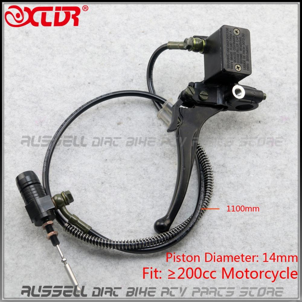 Left Right Handle Brake Clutch Lever Master Cylinder Hydraulic high-grade System For YBR/EN/CBF/CB/CG Motorcycle M10