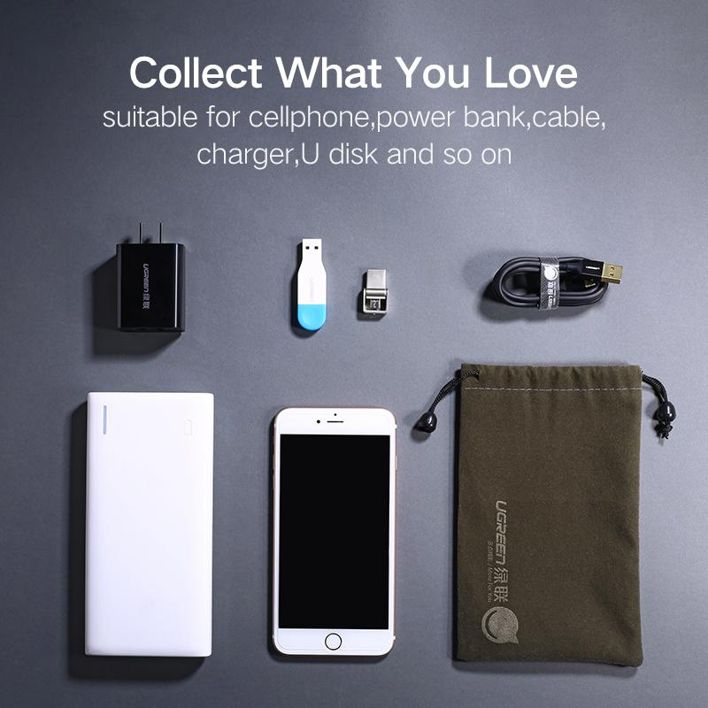 Power Bank Case Phone Pouch For iphonePhone Samsung Xiaomi Huawei Waterproof Powerbank Storage Bag Phone Accessories
