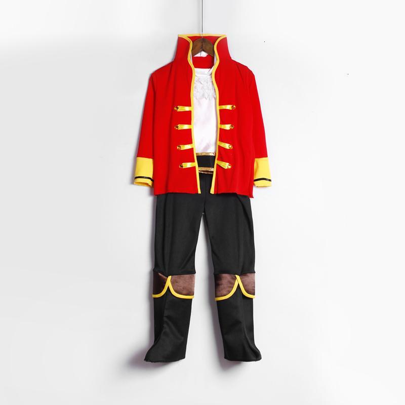 Дети Пираты костюм Хэллоуин костюм для малышей мальчиков лучший костюм партии OutfitsMX190923