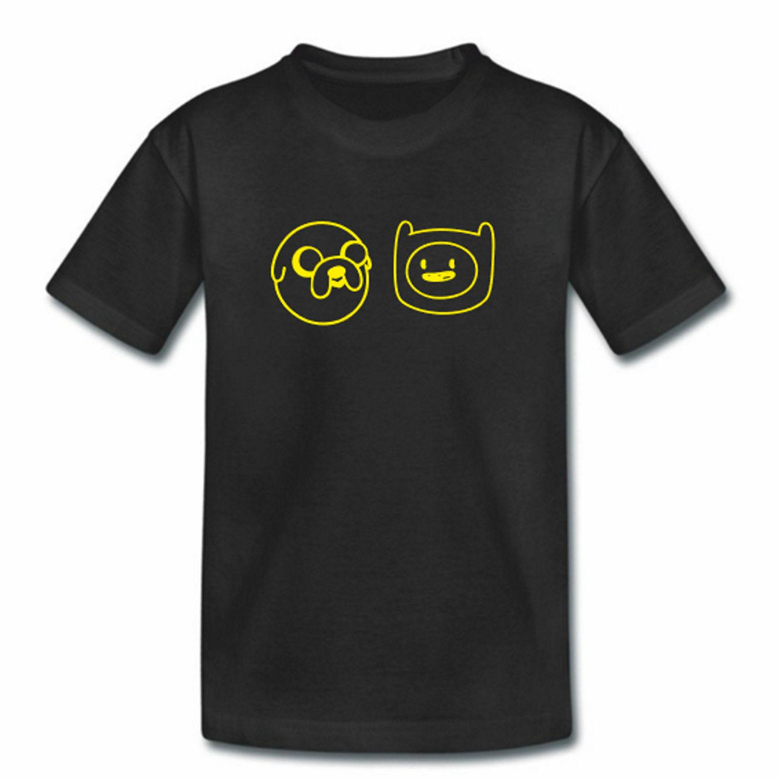 Tshirt Enfant - Finn Discount Jake - Garçons Filles - Jake The Dog