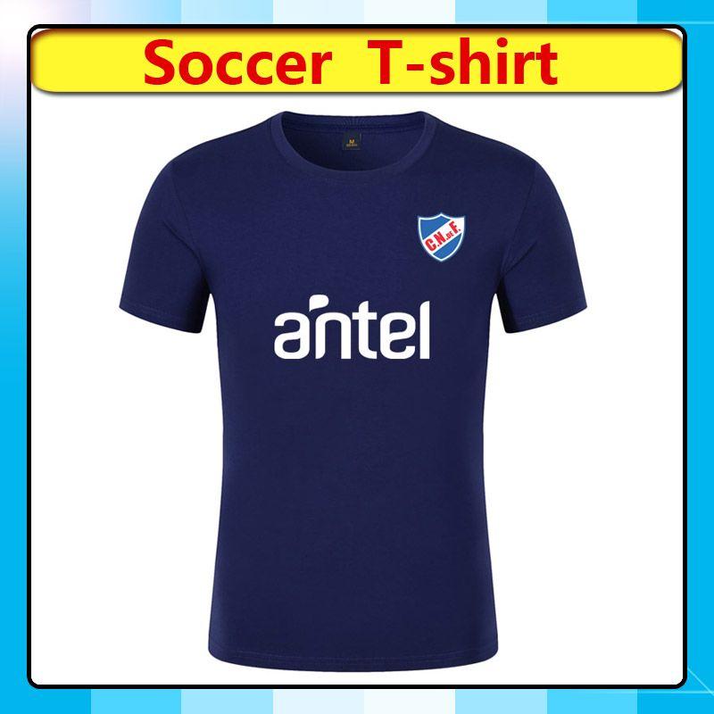 2020 Club Nacional Erkek Futbol tişört Futbol Formalar 2020 2021 Club Nacional Kısa Kollu Futbol tişört spor Futbol Gömlek Fanlar Tops