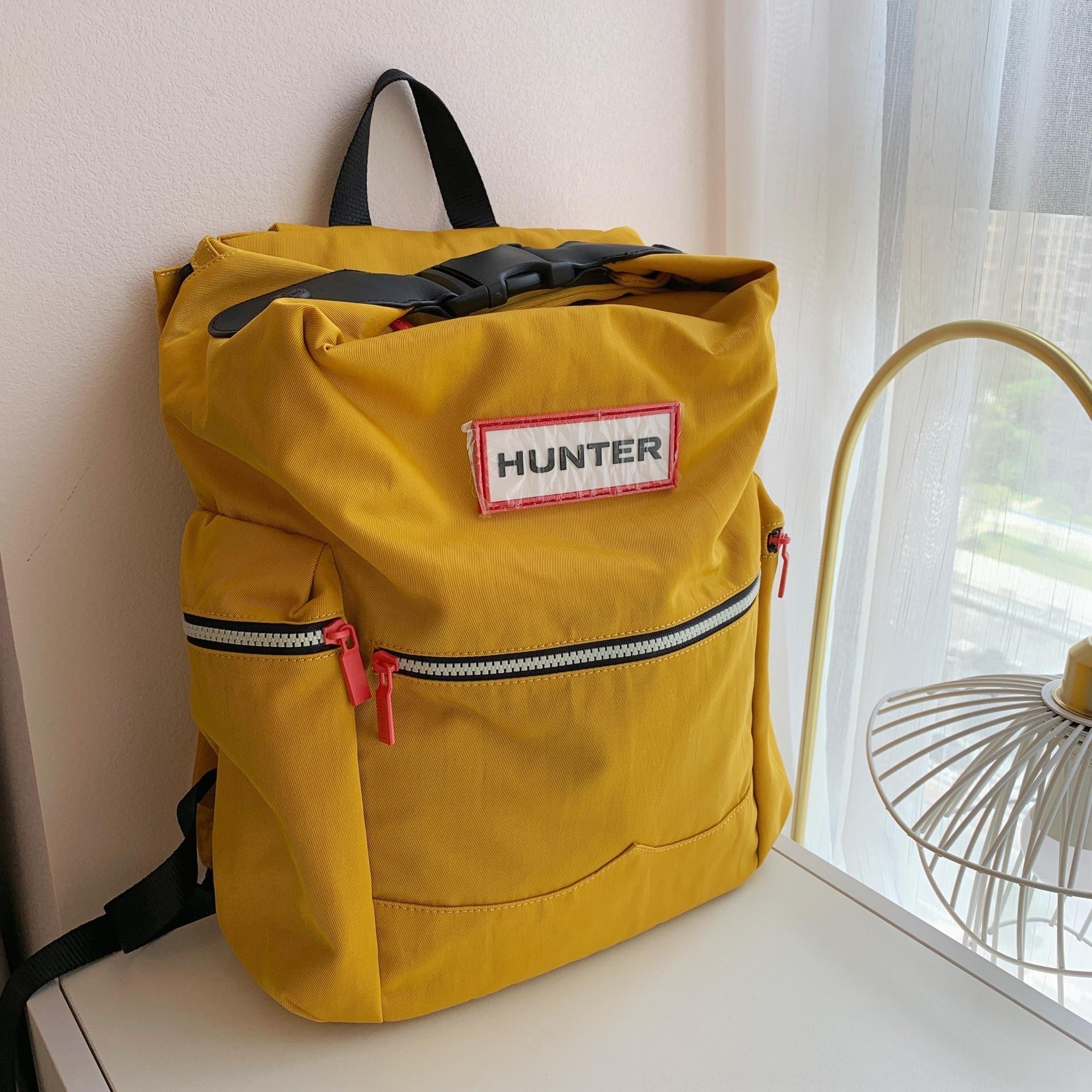 Emh2X Hunter Büyük bir sırt çantası erkek ve kadınların gündelik Bilgisayar backpackleisure torba backpackrain geçirmez hafif toptrendy sırt çantası bilgisayar