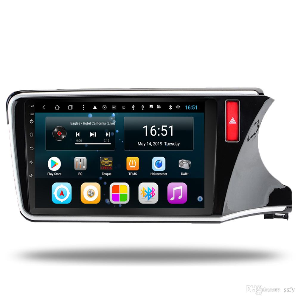 Android 10.1inch 8-core for Honda city right 2015-2018 Car Multimedia Player Radio Tuner WIFI Bluetooth GPS Navigation Wifi Head Unit