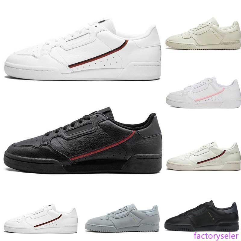 2020 Calabasas PowerPhase continental 80 chaussures de sport PRIDE Clould blanc de base noir Rascal formateurs gris hommes femmes sport Chaussures de sport 36-45