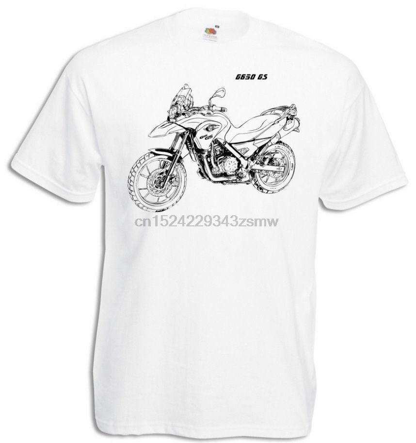 Moda G650GS playera con Grafik G 650GS motorcycyle Rally G 650 GS Motorrad Fahrer Camiseta