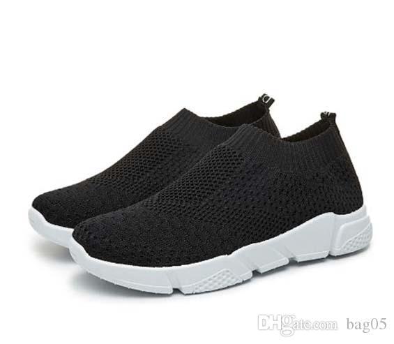 Zapatos zapatos de la zapatilla de deporte de lona nueva bota zapatos de moda casual formadores deportivos de alta calidad botas de cuero sandalias por DHL B05 019