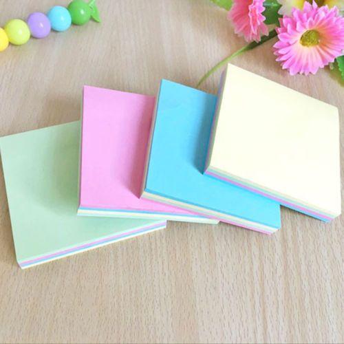 100 pagine Sticky Note Notebook Memo Pad Bookmark Sticker Blocco note calde