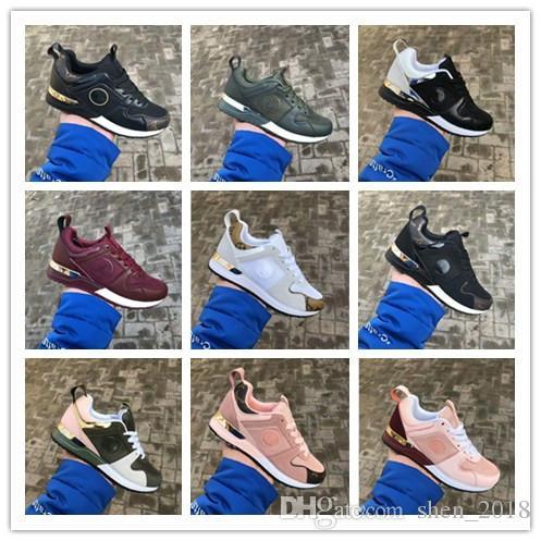 Vendita calda designer scarpe da uomo di marca di lusso delle donne low cut casual run away scarpe francia marca uomini donne sneakers mocassini 36-45