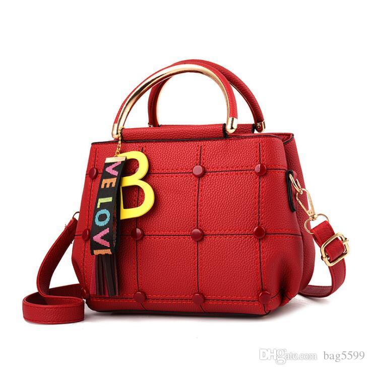HBP Women's Bag New Korean Tide Joker Lady Small Square Bag Shoulder Messenger Bag