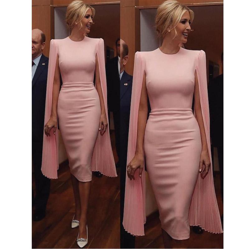 Pink Plus Size Short Sirena Vestidos de fiesta 2020 Vestidos de noche Formal Vestidos de fiesta Vestidos de cóctel Robes de Soirée