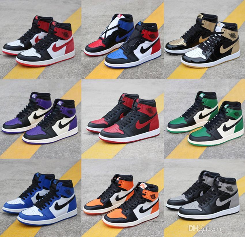 New Air JORDAN 1 Basketball Shoes AJ1