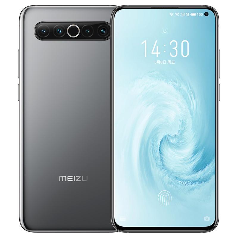 "Original Meizu 17 5G LTE Handy 8 GB RAM 128 GB 256 GB ROM Snapdragon 865 Octa-Core Android 6.6"" 64MP NFC Fingerabdruck-ID intelligentes Handy"