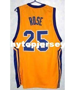 online retailer 3c1c9 f43a7 2019 Cheap DERRICK ROSE #25 SIMEON HIGH SCHOOL BASKETBALL JERSEY  BLUE,Yellow,Stitched Men'S Jerseys Customize Any Size Number NCAA From  Hytopjersey, ...
