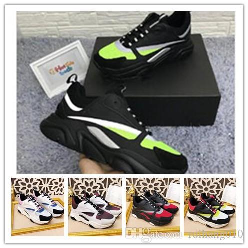 2020 yeni sıcak yüksek kaliteli B22 erkek spor ayakkabıları rahat ayakkabı moda bayan Fransız tasarımcı markası ayakkabı 35-45 1w60