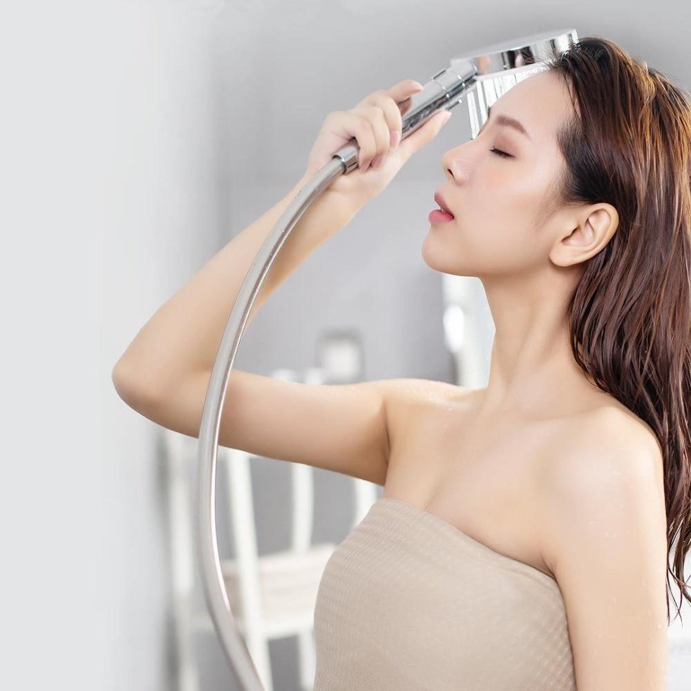 Xiaomi youpin dabai Diiib 3 modos Handheld Shower Head Set 360 graus 120 milímetros 53 furo de água com PVC Matel Massagem poderoso chuveiro 3012591A5