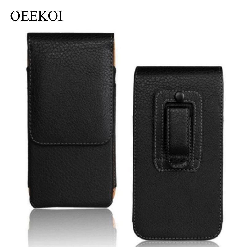 Custodia a clip da cintura in pelle PU OEEKOI Custodia a conchiglia per Blackberry 9720/9790 Bold / 9360 Curve / 9370 Curve / 9380 Curve
