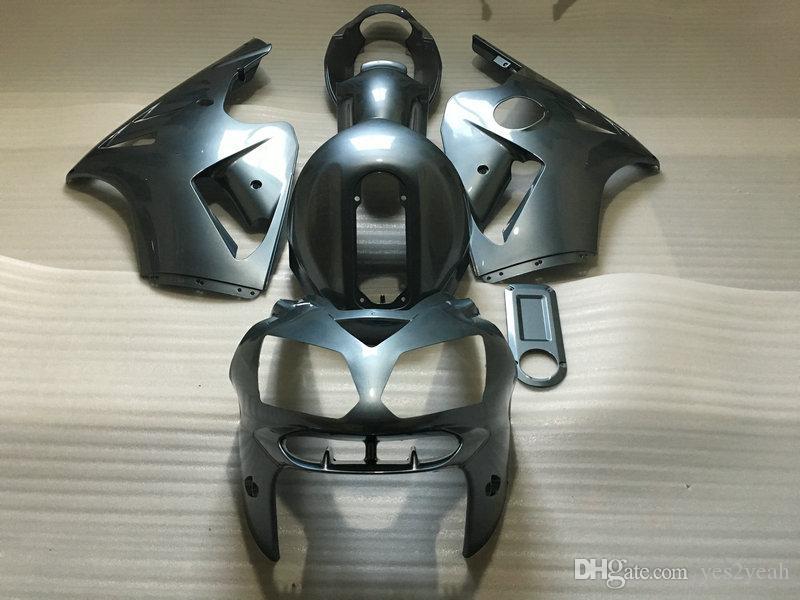 가득 차있는 탱크 덮개 KAWASAKI 닌자 ZX12R를위한 공정 장비 02 04 05 ZX-12R ZX 12R 2002 2004 2005 주입 차체 차체 + 선물