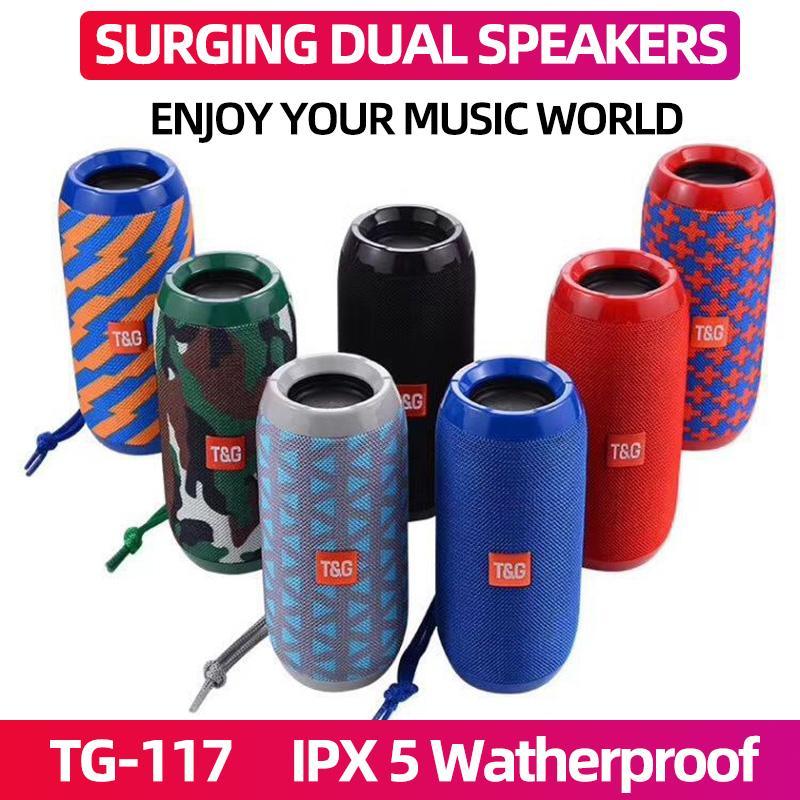 TG117 tragbare Bluetooth-Lautsprecher boombox Soundbar Subwoofer Outdoor Sports caixa de som Lautsprecher TF-Karten-FM Radio AUX-Eingang