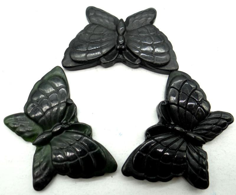 diy Takı yapımı kolye Aksesuar kelebek muska kolye toptan doğal taş Çin taş el oyması heykel