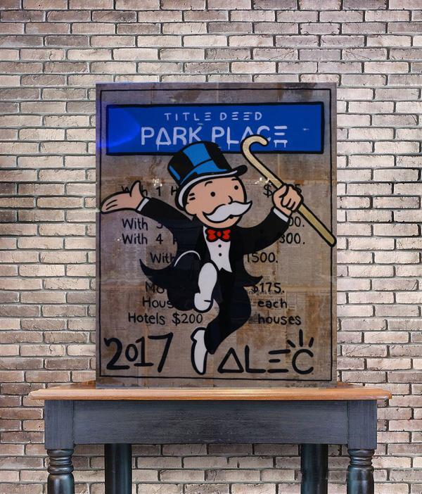 Alec Monopoly Park Place Home Decor Handpainted &HD Print Oil Painting On Canvas Wall Art Canvas Pictures 200519