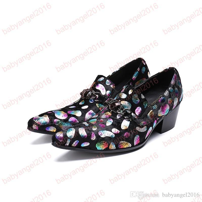 Мужчины острыми пальцами кожи фиолетовый цветочный шнуровке туфли мужчины фиолетовый свадебное платье обувь круглый носок мужчины платье обуви