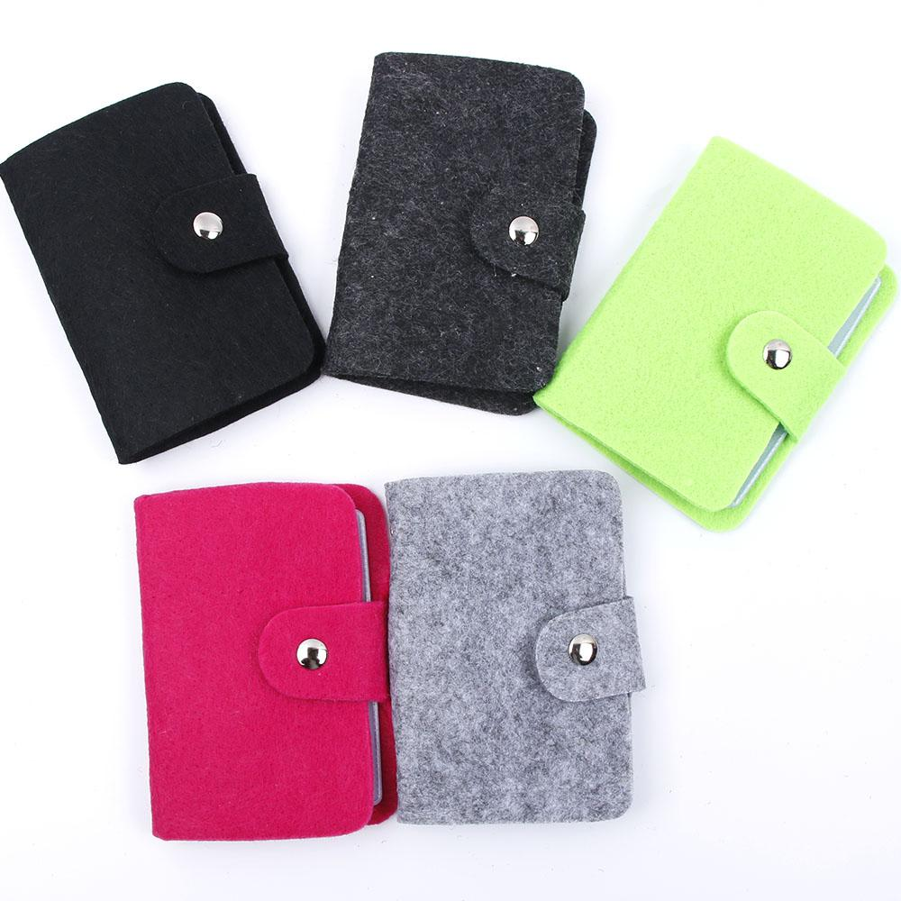 Fashion Women Card Case Pouch ID Credit Card Wallet Holder Organizer Case Pocket Business Card Holder Storage Bags