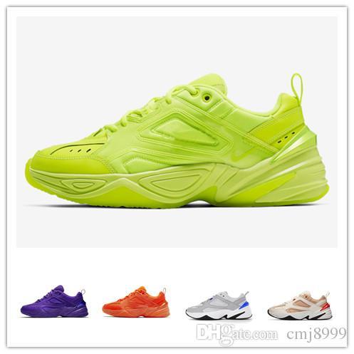 Buack Monarch M2K Tekno Baba Spor Koşu Ayakkabıları için En kaliteli Kadın Erkek Tasarımcı Zapatillas Spor Eğitmenler Sneakers ABD 5.5-11
