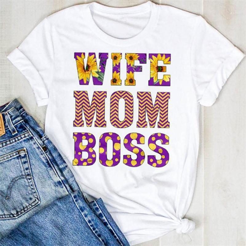 Tops Frauen Solid Color Lässige Tees Buchstabe gedruckten T-Shirts Summer Fashion Damen Kleidung Kurzärmlig Designer