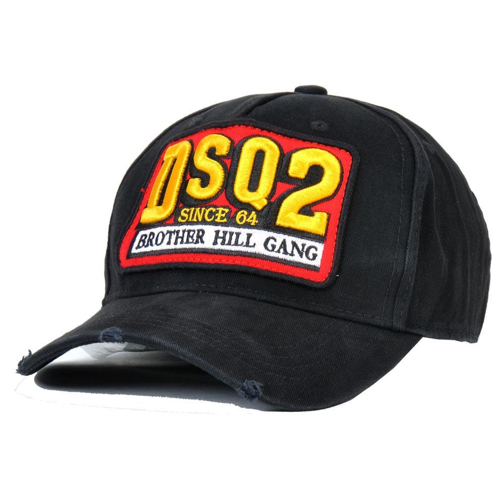 2020 غطاء جديد DSQICOND2 قبعات الرجال الفاخرة مصمم قبعات البيسبول قبعات النساء Casquette التطريز قابل للتعديل المتاحة للاختيار جديدة