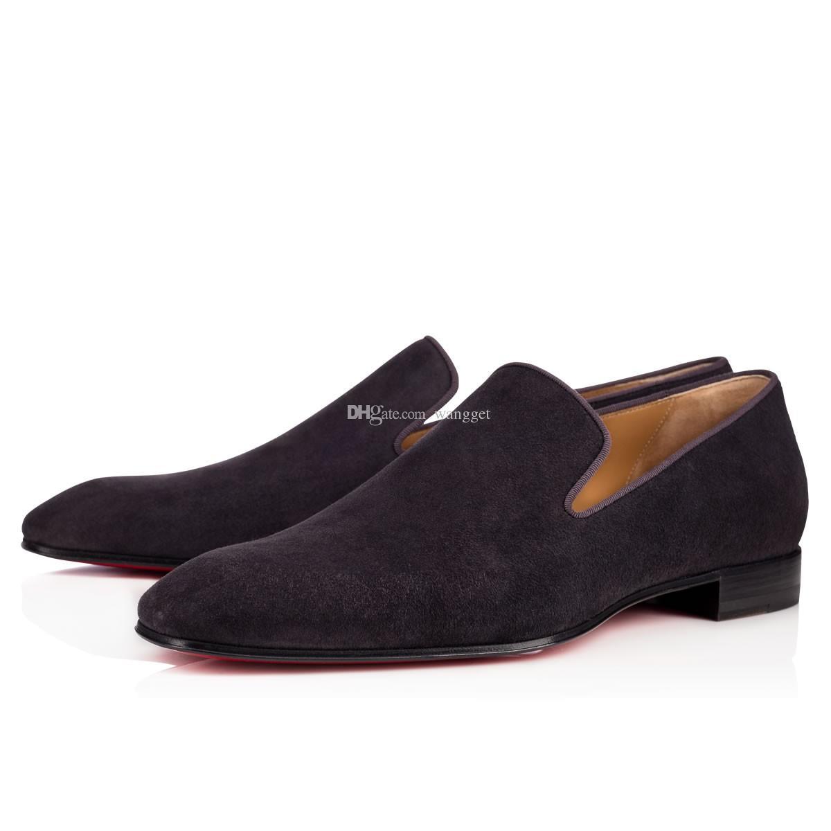 Paris Design Cavalheiro Partido Bussiness Vestido Deslizamento Em Loafers Sapatos Dandelion Sneaker Vermelho Inferior Oxford, Luxo Lazer Moda Masculina Plana