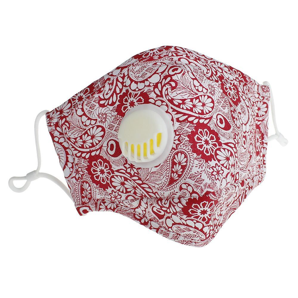 Máscara de válvula de filtro Ajustável pad máscaras tampa de respiração lavável boca adulta reutilizável sem rosto cara muffle cca12284 300pcs hnofw