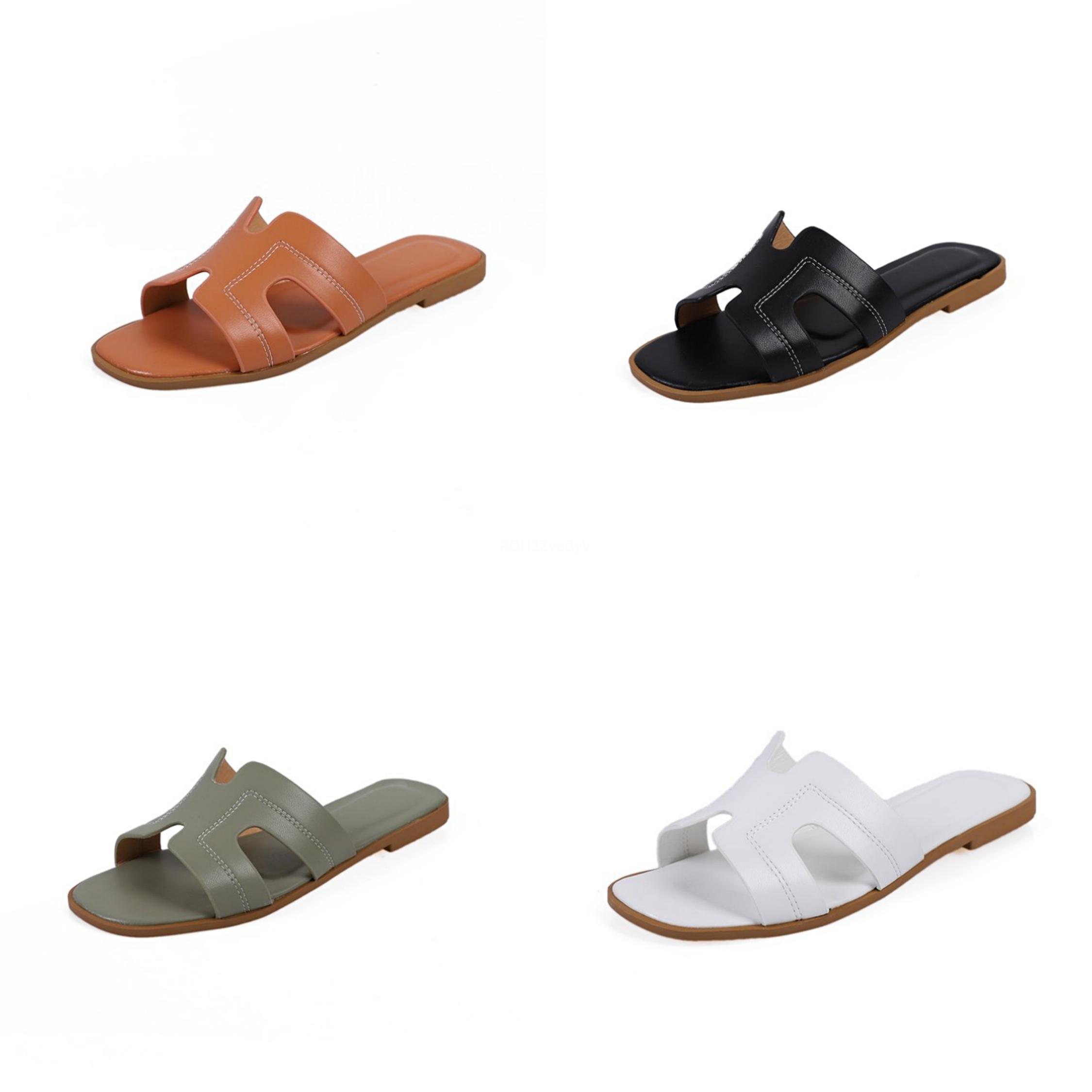 Men Sandal 2020 Slippers Flat Summer Shoes Woman Clear Heels Flip Flops Platform Ladies Women Fashion Flower Beach Comfort#971