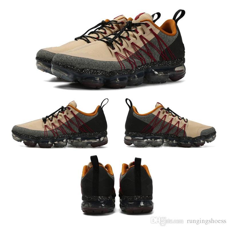 2019 Run Utility Men Running Shoes Mejor Calidad Negro Antracita Blanco Reflejo Plata Zapatos de descuento Zapatillas deportivas Tamaño US7-US11