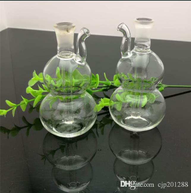 Mini garrafa de água de vidro cabaça vidro bongs queimador de óleo de vidro da tubulação de água plataformas petrolíferas fumadores Rigs gratuito