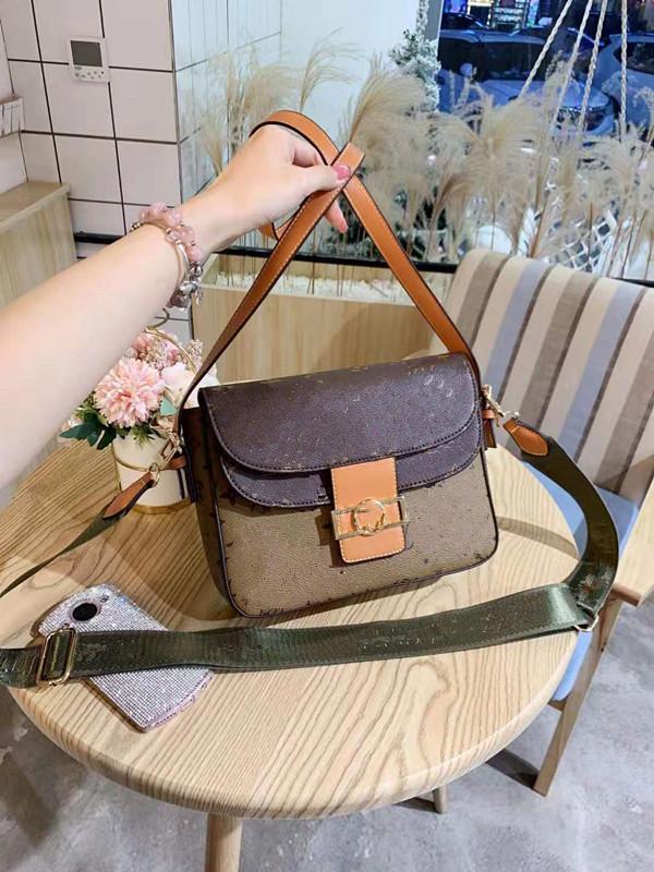 Wiederherstellen Handtasche alte Weisen Kleines Brot klassisch Joker Presbyopic Mädchen-Frauen-Schulter-Bucket Beutel-Qualitäts-Mode Frau Paket