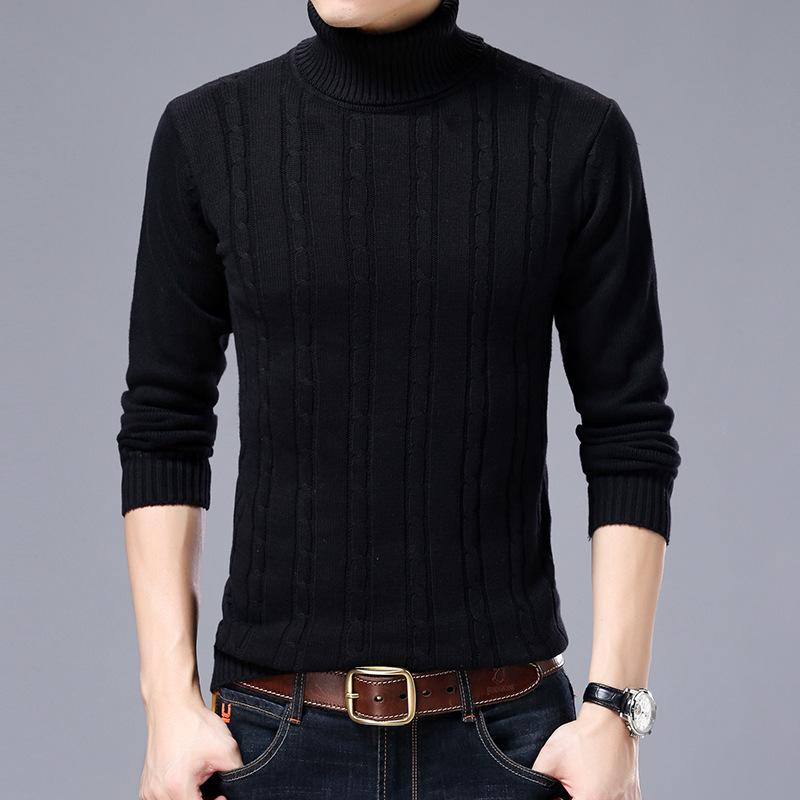 Cultivate one's morality show thin sweater turtle neck stretch of new fund of 2018 autumn winters warm sweater