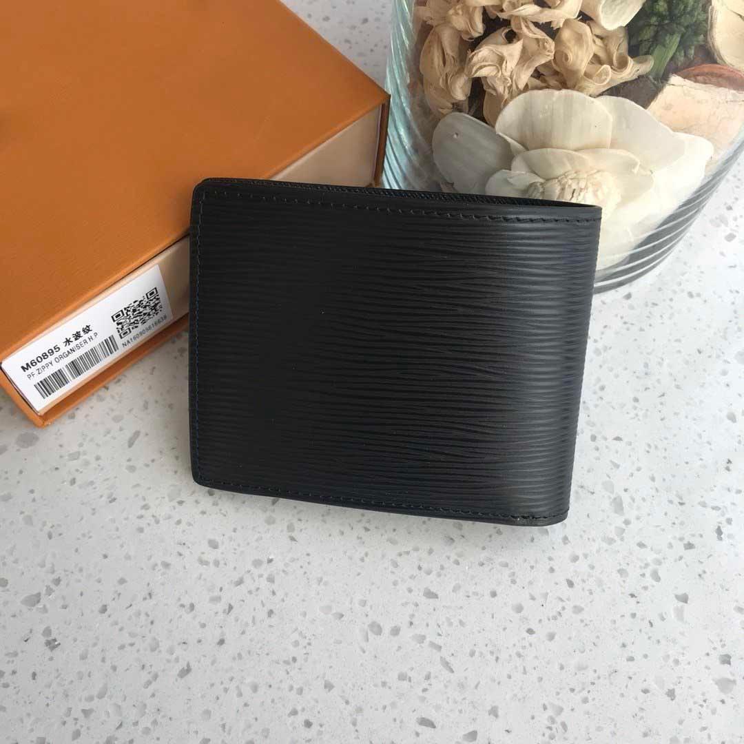 Mens Leather Luxury Designer Wallets Gifts For Men Brand Fashion Designer Card Holder Coin Purse Portafoglio Uomo High Quality Mens Wallets