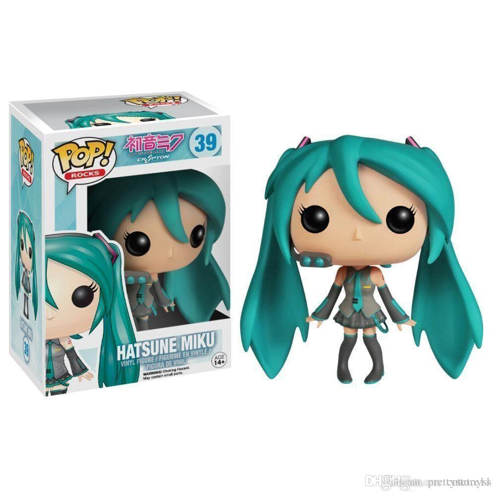 Pretty DHL Fast ship Promotion Funko POP Vocaloid - Hatsune Miku Vinyl Action Figure With Box #229 Gift Doll Toy Free Shipping