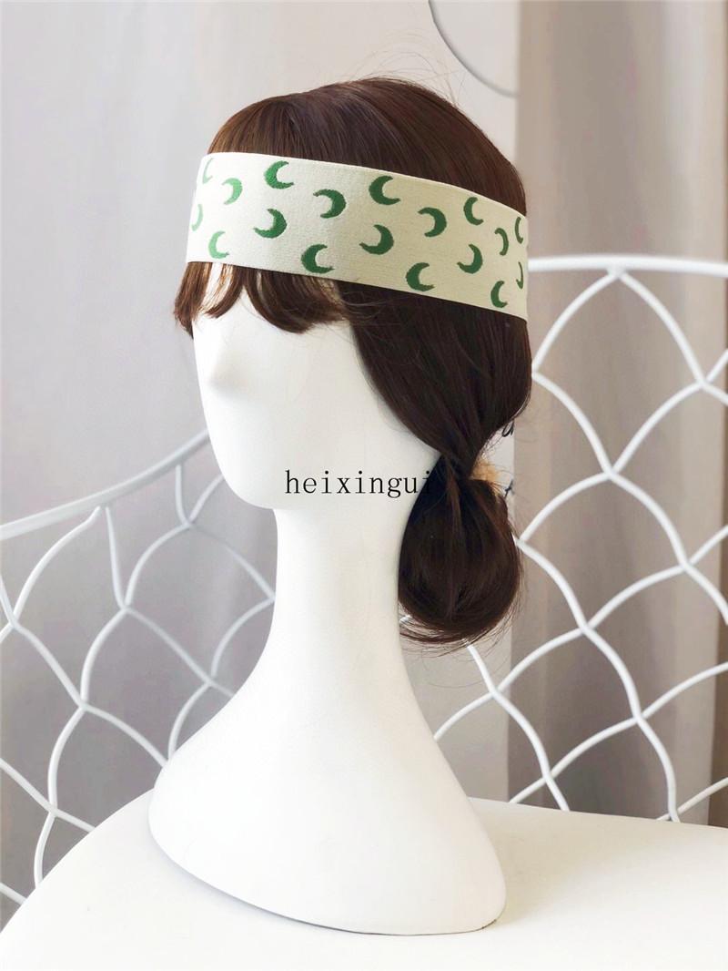 مطاطا العصابة للرجال والنساء 2020 NEW القمر طباعة مصمم العصابات الشعر للسيدات فتاة ريترو الشعر الملحقات Headwraps هدايا