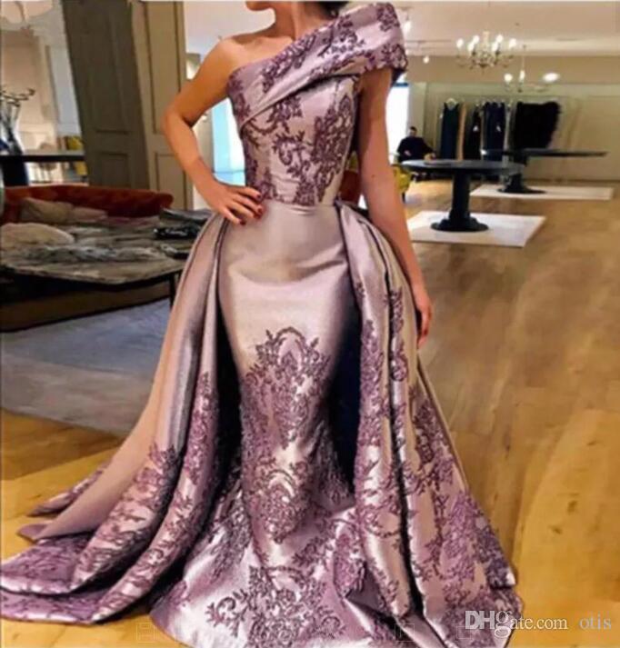 Бесплатная доставка Yousef aljasmi Модные платья могут быть настроены с изысканными цветами ручной работы одно плечо без рукавов