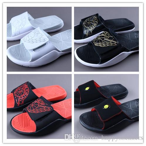 Air Jdan Hydro 7 Man Women Summer Sandals Soft Sole VII Slippers Outdoor Beach Slides